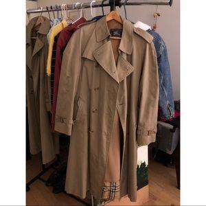 Men's Burberry trench coat